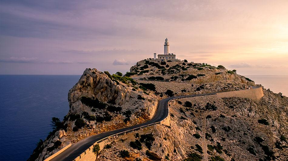 Cap de Formentor route