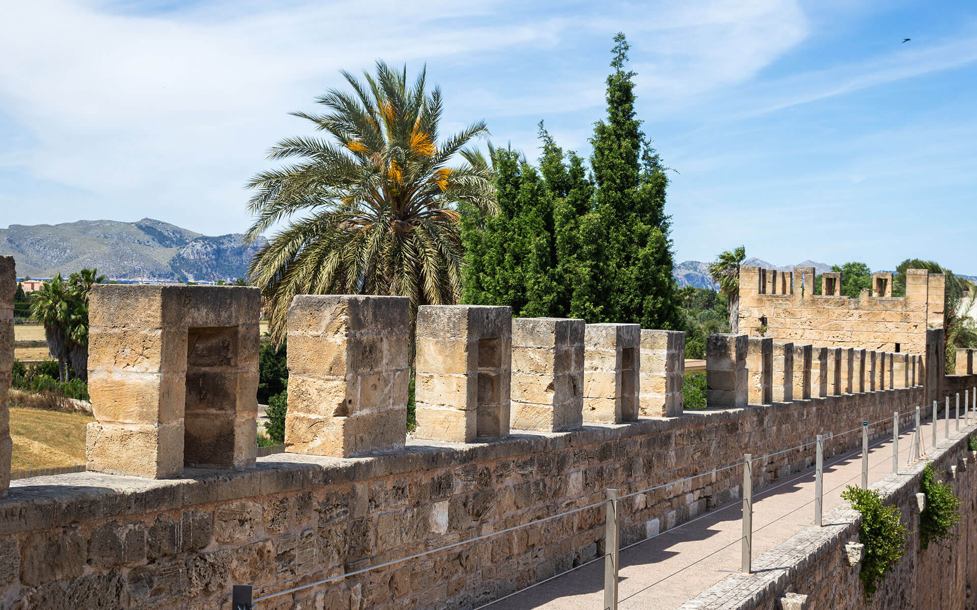 The City Walls Of Alcudia