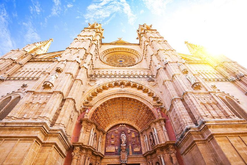 Cathedral in Palma La Seu