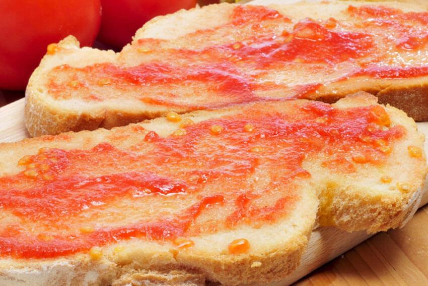 Pa amb oli tomato