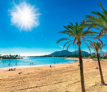 Image for The weather in Majorca