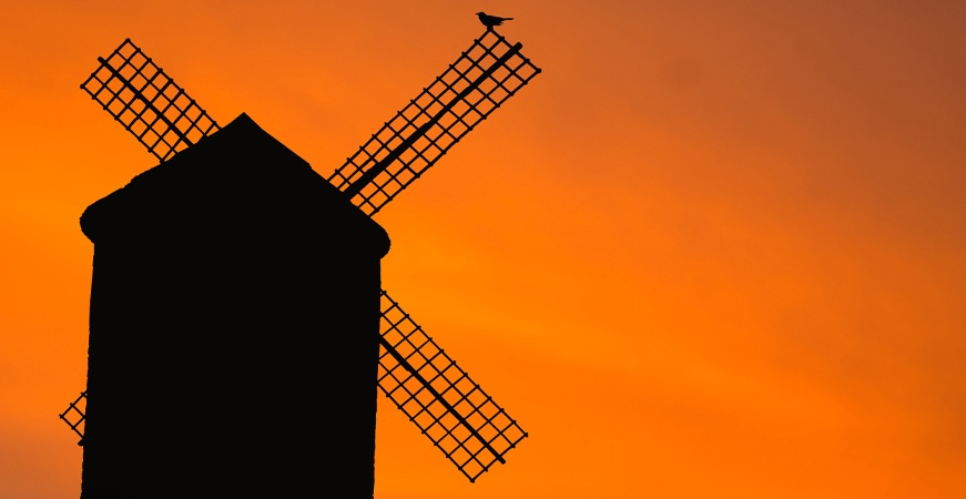 Image for They are not giants, they are windmills