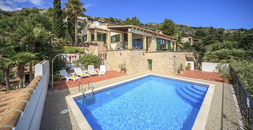Image for Holidays in Pollença: Sea and Swimming pool